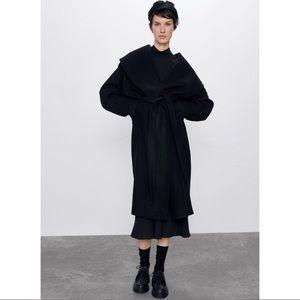 Zara Shawl Collar Coat